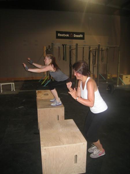 Box Jumps