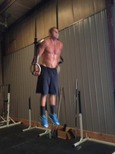 Derek Crushing Muscle Ups