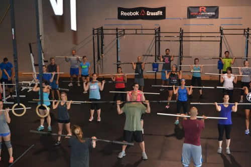 Bring a Friend to CrossFit Day!