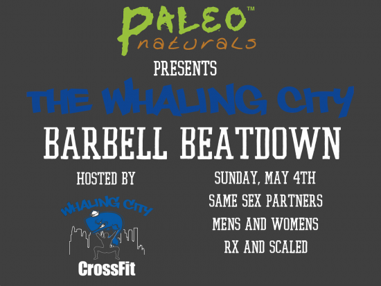 barbell beatdown flyer