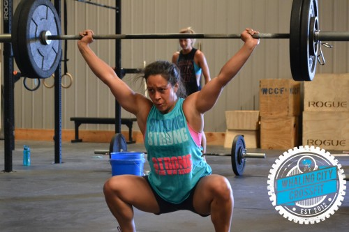 Justine has the best lifting faces.