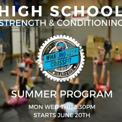 High school strength & conditioning