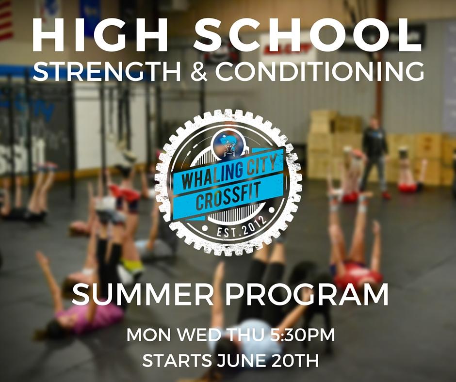 High school strength & conditioning