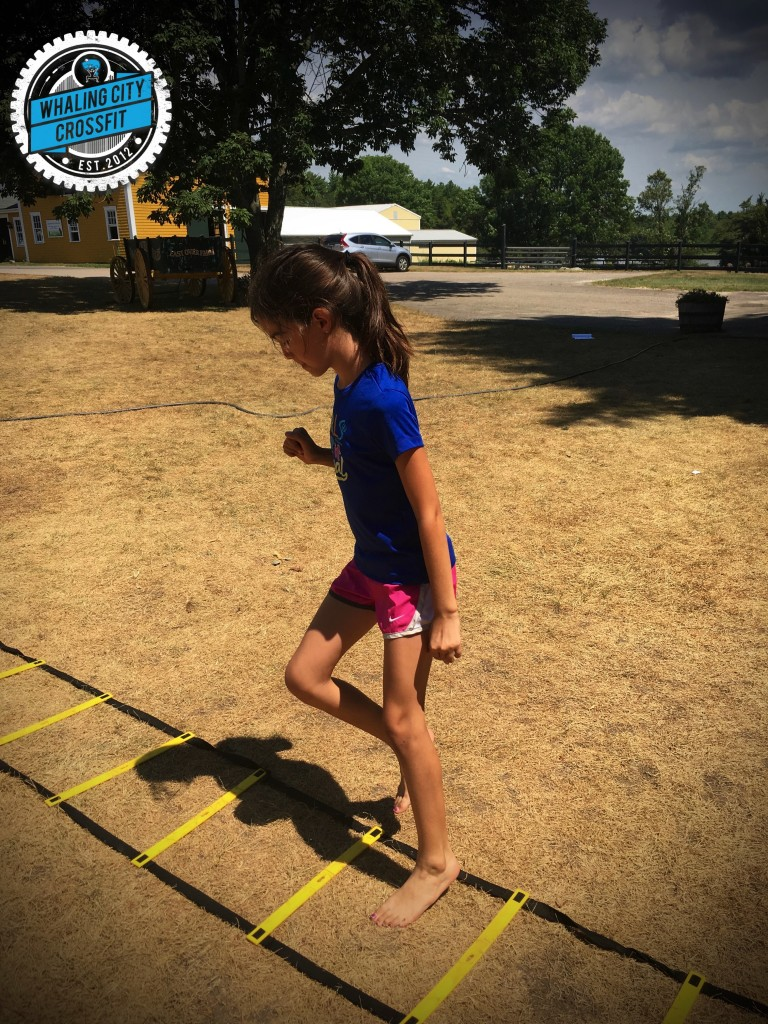 Agility #CrossFitKids
