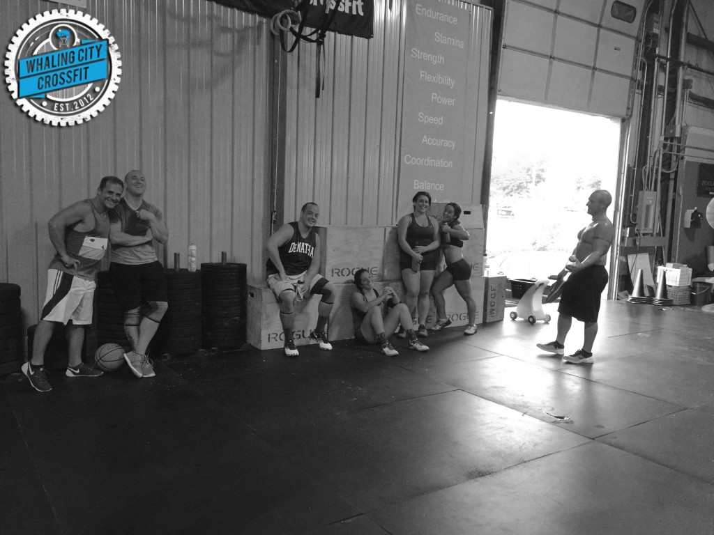 "The latest in my photo series ""CrossFitters Doing Nothing"""